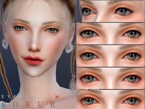Sims 4 Makeup Male - 'eyelashes'