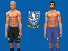 Sims 4 — Sheffield Wednesday FC shorts 2018/19 fitness needed by RJG811 — Sheffield Wednesday FC shorts 2018/19 Requires