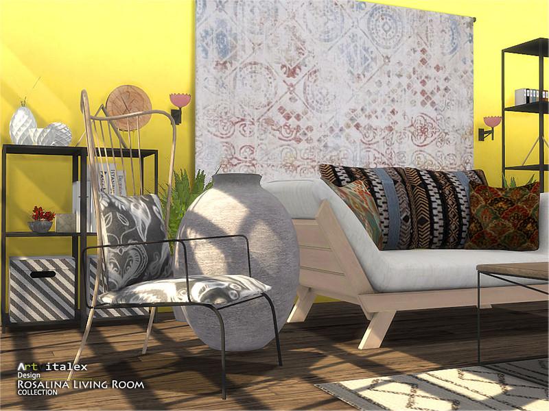ArtVitalex's Rosalina Living Room