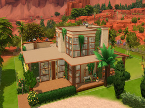 Sims 4 — Desert Springs by LJaneP6 — With the best views of the StrangerVille Plaza Desert Springs is the perfect place
