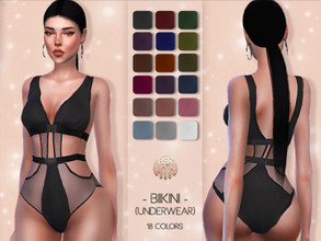 Sims 4 — Bikini (UNDERWEAR) BD49 by busra-tr — 18 colors Adult-Elder-Teen-Young Adult For Female Custom thumbnail