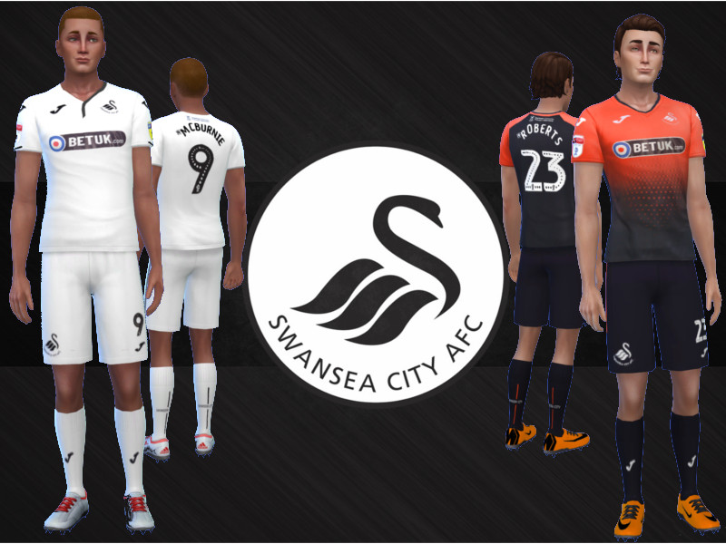 best website 1dabb c891d RJG811's Swansea City AFC Kit 2018/19 fitness needed
