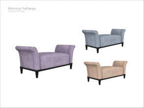 Sims 4 — [Monica hallway] - ottoman by Severinka_ — Ottoman From the set 'Monica hallway' Build / Buy category: Comfort /