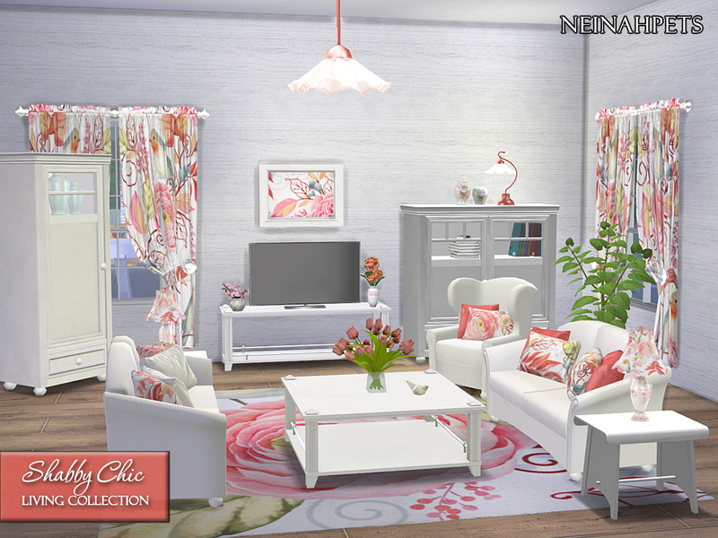 neinahpets\' Shabby Chic Living Room Collection {Mesh Required}