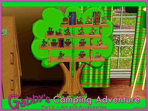 Sims 3 — Gabbys Camping Adventure Part 2 by Cashcraft — Gabbbys Camping Adventure Part 2, features wall art, accessories