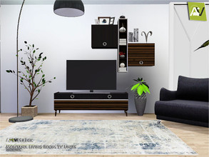 Sims 3 — Montana Living Room TV Units by ArtVitalex — - Montana Living Room TV Units - ArtVitalex@TSR, Jun 2019 - All