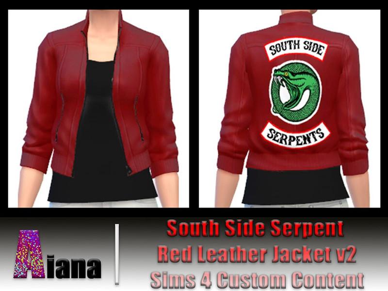 Ai A Na S Cheryl Blossom Serpent Jacket