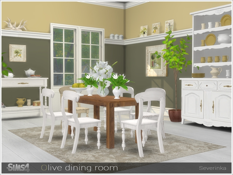 Severinka S Olive Dining Room