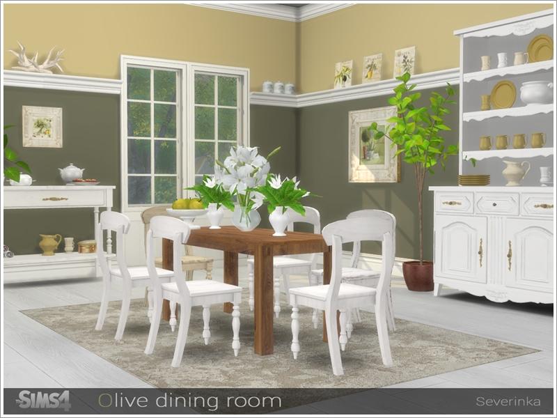 Severinka S Olive Dining Room