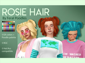 Maxis Match Sims 4 Hair