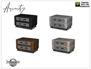 Sims 4 — Acsventsy bedroom end table by jomsims — Acsventsy bedroom end table