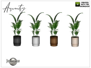 Sims 4 — Acsventsy bedroom plant by jomsims — Acsventsy bedroom plant