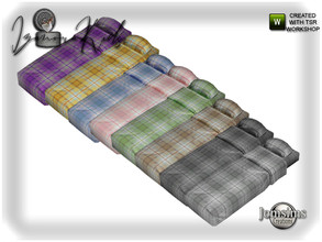 Sims 4 — Izanora kids bedroom bed mattress by jomsims — Izanora kids bedroom bed mattress