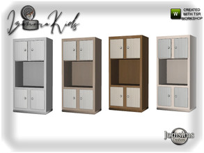 Sims 4 — Izanora kids bedroom dresser 2 by jomsims — Izanora kids bedroom dresser 2