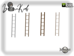 Sims 4 — Izanora kids bedroom ladder deco by jomsims — Izanora kids bedroom ladder deco