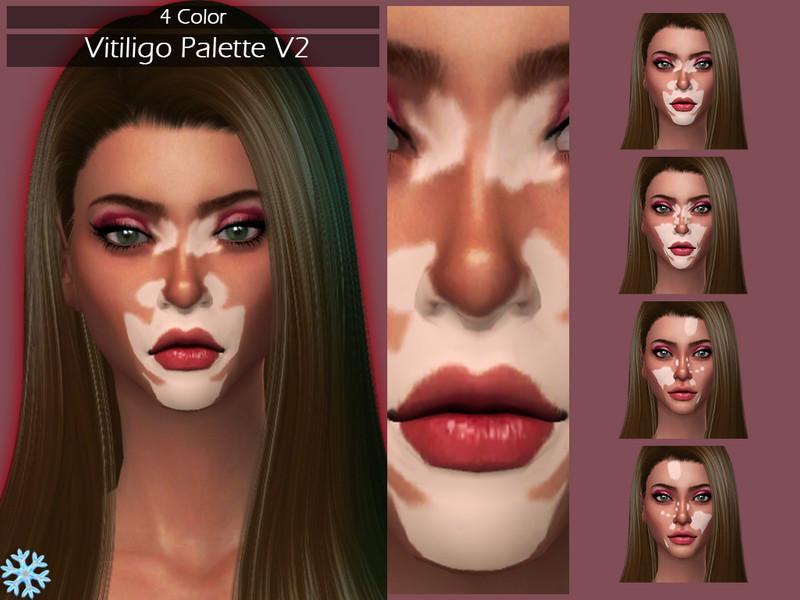 Lisaminicatsims Lmcs Vitiligo Palette V2