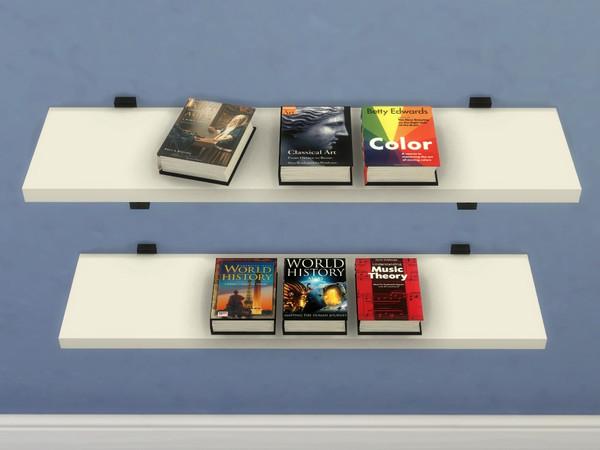 Literate Sims Mega Book Set 7 - Textbooks Set B - The Sims 4