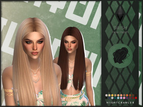 Nightcrawler Sims's Sims 4 Hair