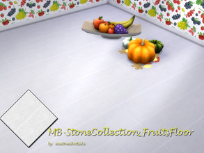 Sims 4 — MB-StoneCollection_FruitsFloor by matomibotaki — MB-StoneCollection_FruitsFloor, matching floor to the -