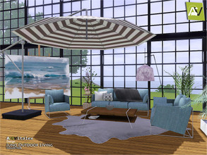 Sims 3 — Juno Outdoor Living by ArtVitalex — - Juno Outdoor Living - ArtVitalex@TSR, Jul 2019 - All objects are
