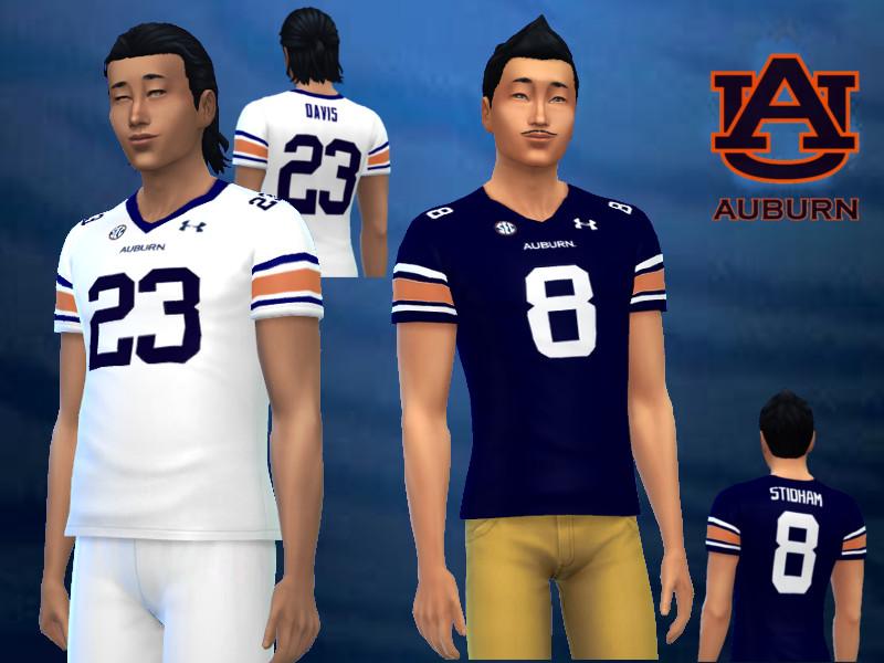 huge selection of fc91e e973a RJG811's Auburn Tigers football jerseys