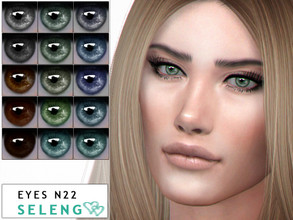 Sims 4 Eye Colors - 'realistic'