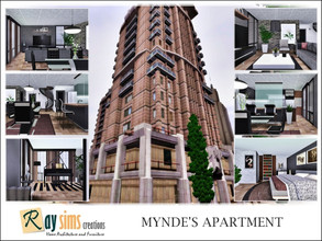 Sims 3 — Mynde's Apartment by Ray_Sims — Although it is newer and boasts better views, this is forever the runner up