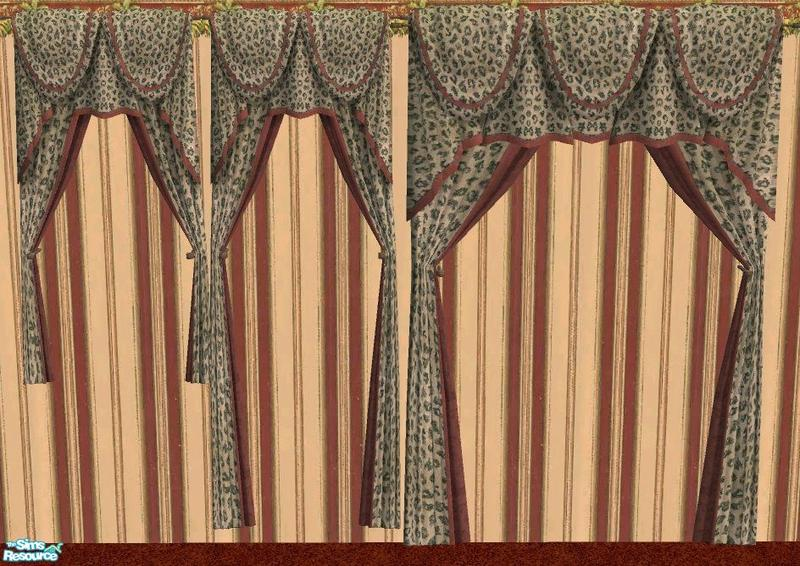 rhondablonda 39 s curtains in leopard print