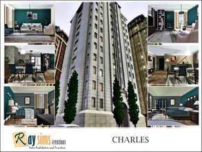 Sims 3 — Charles by Ray_Sims — This apartment has 2 bedroom and 1 bathroom. Hope you enjoy it :)