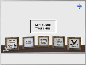 Sims 4 Object Sets