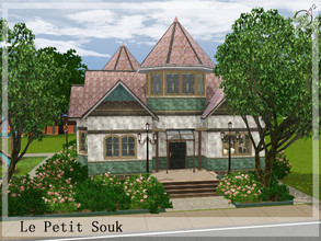 Sims 3 — Le Petit Souk by timi722 — Old style little Shop. Contains toys, clothes and furnitures for kids. Parking place