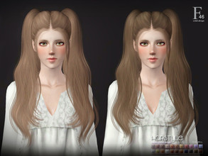 Sims 3 — Sclub ts3 hair  n46 by S-Club — Hi everyone! Here is my n46 hair for TS3 too! You can find the hair clipper on