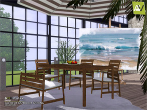 Sims 3 — Lachesis Outdoor Dining by ArtVitalex — - Lachesis Outdoor Dining - ArtVitalex@TSR, Aug 2019 - All objects are