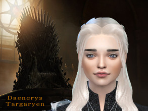 Sims 4 — Daenerys Targaryen by gaelys — Queen Daenerys Targaryen, also known as Daenerys Stormborn, was the younger