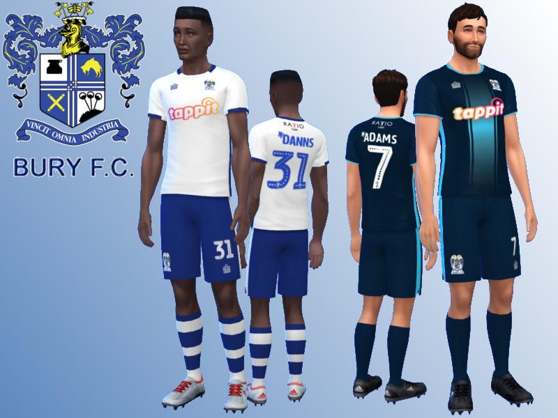 RJG811's Bury FC Kit 2018/19 fitness needed