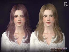 Sims 3 — Sclub ts3 hair  n47 by S-Club — Hi everyone! Here is my n47 hair for TS3 too! You can find the hair clipper on