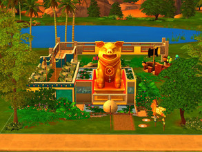 Oriental Sims 4 Lots