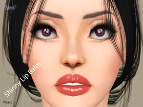 Sims 3 — Shinny Lip Balm by pizazz — Makeup is never complete without that perfect lipstick! Please do not use my