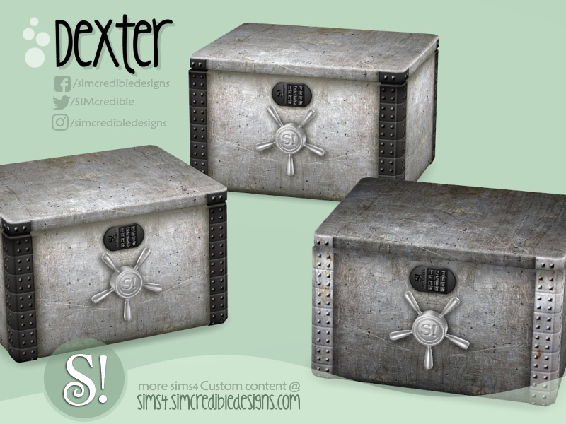 SIMcredible s Dexter safe chest storage