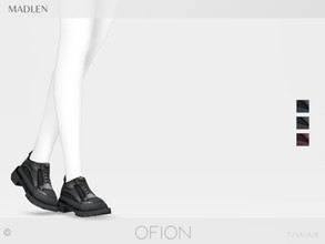 Sims 4 — Madlen Ofion Shoes by MJ95 — Mesh modifying: Not allowed. Recolouring: Allowed (Please add original link in the