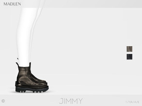 Sims 4 — Madlen Jimmy Boots by MJ95 — Mesh modifying: Not allowed. Recolouring: Allowed (Please add original link in the