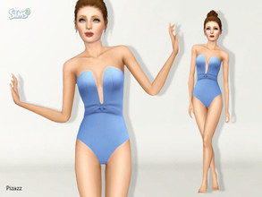 Sims 3 — Summers End Swimwear by pizazz — A great and stylish look for the summer. Rush in to get it before we sell out.