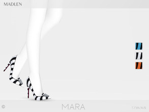 Sims 4 — Madlen Mara Shoes by MJ95 — Mesh modifying: Not allowed. Recolouring: Allowed (Please add original link in the