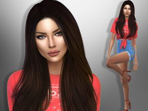 Sims 4 — Ariella York by divaka45 — Look at the creator`s notes for the custom content which I have used. DOWNLOAD