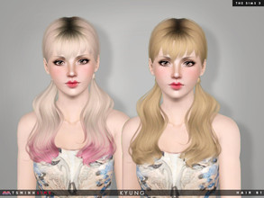 Sims 3 — Kyung ( Hair 81 ) by TsminhSims — - S3Hair - New meshes - All LODs - Smooth bone assigned