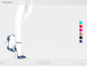 Sims 4 — Madlen Yuna Shoes by MJ95 — Mesh modifying: Not allowed. Recolouring: Allowed (Please add original link in the
