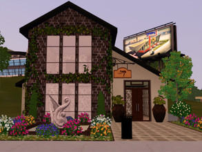 Sims 3 — Serenity Salon by Jujubee77 — Perfection is the goal here in our salon. Urban Sims will love our petite styling