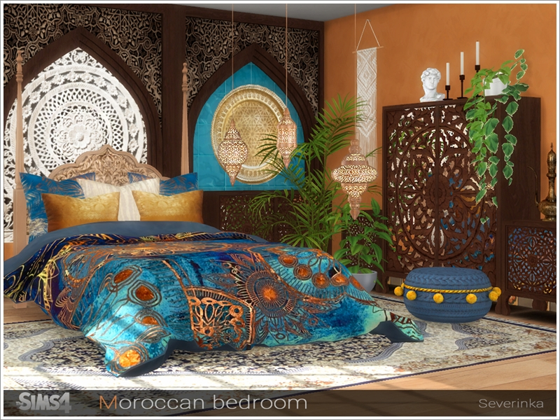 Severinka S Moroccan Bedroom