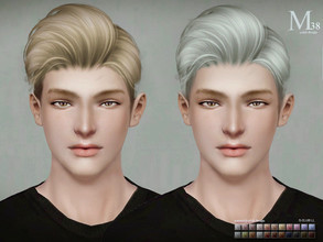 Sims 3 — Sclub ts3 hair n48 by S-Club — Here is my n48 hair for TS3 too! You can find the hair clipper on gloves