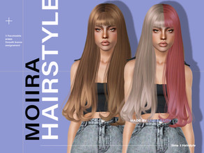 Sims 3 — LeahLillith Moiira Hair by Leah_Lillith — Moiira Hair All LODs Smooth bones Custom CAS thumbnail hope you will